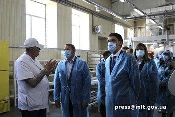 В Мелитополе открыли хлебокомбинат после модернизации, фото-3