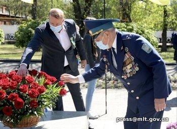 В Мелитополе почтили память погибших во Второй мировой войне, фото-1