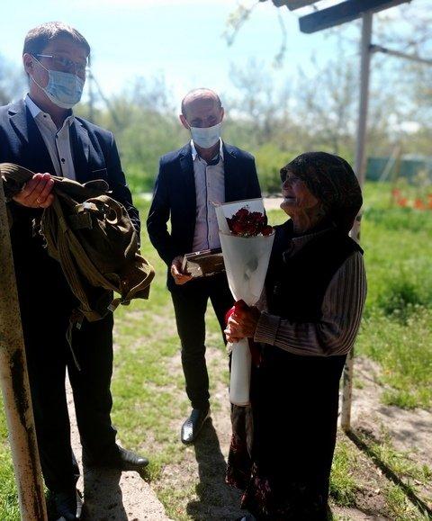 Руководители Мелитопольского района поздравили ветеранов, фото-2