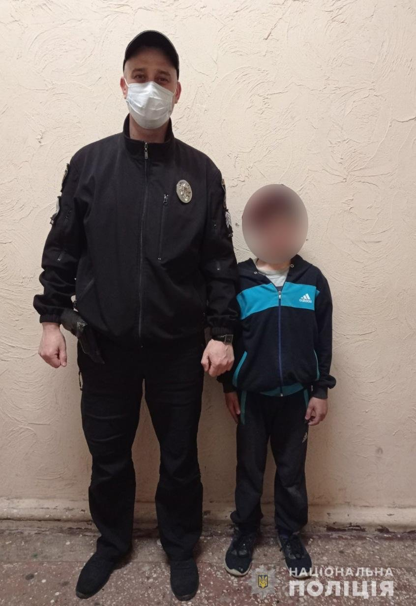 В Мелитополе полицейские помогли родителям разыскать малолетнего сына, фото-1