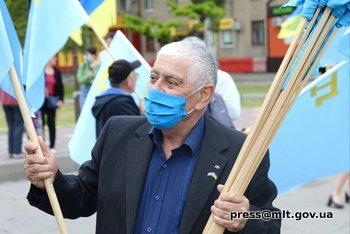 Мелитопольцы почтили память жертв геноцида крымскотатарского народа, фото-2