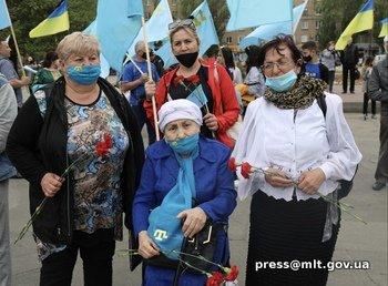 Мелитопольцы почтили память жертв геноцида крымскотатарского народа, фото-1
