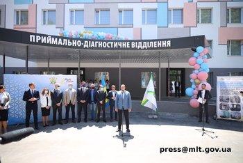 В Мелитополе открыт обновленный роддом, фото-5