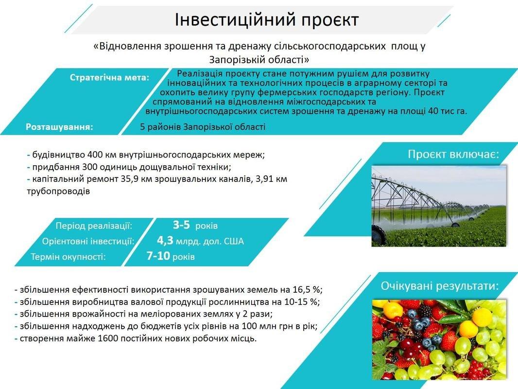 Инвестиционные проекты для Мелитополя и Кирилловки, фото-2