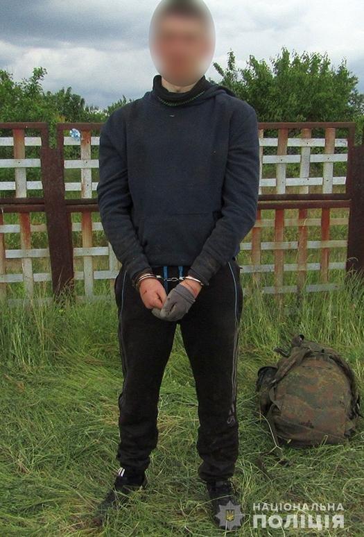Задержан житель Мелитополя, подозреваемый в краже из сельского магазина, фото-1